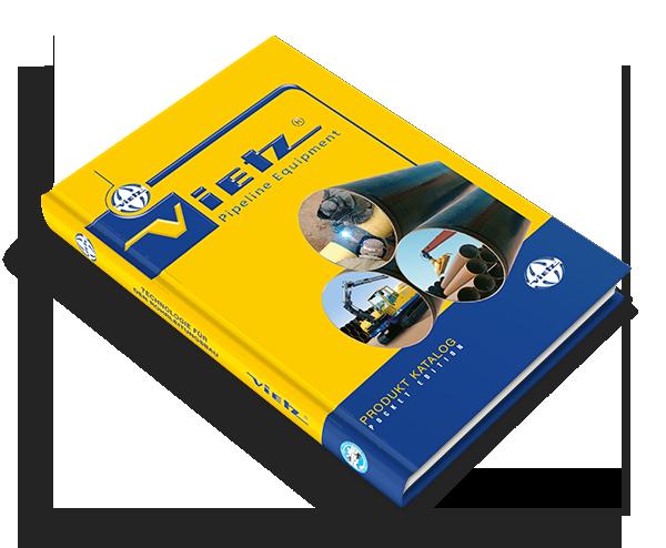 Grafikdesign Beispiel Produktkatalog Firma Vietz GmbH
